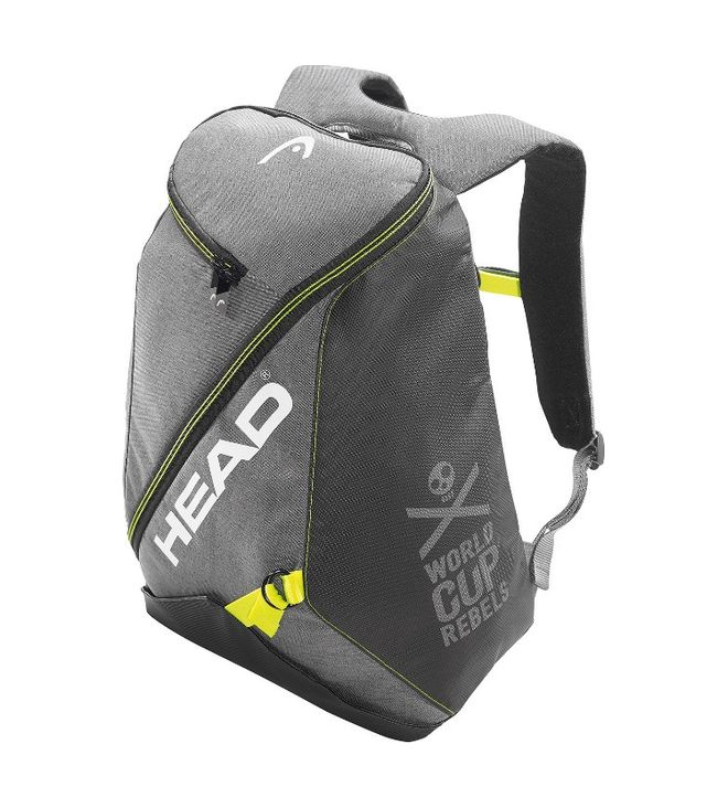 Rebels Backpack Grey/Neon Yellow 25L