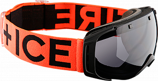 Fire+Ice Ski-Brille Plus Black